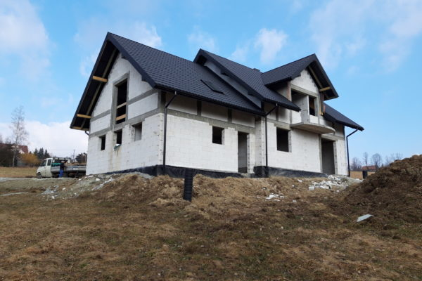 Budowa całego domu w Słopnicach