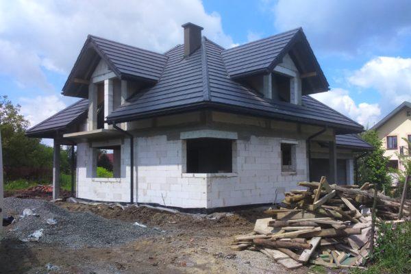 Gotowy dom na ulicy Skotnickiej w Krakowie