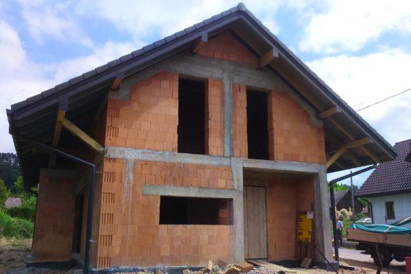 Budowa całego domu w Karniowicach