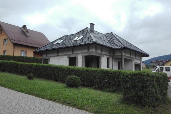 Budowa całego domu w Tymbarku (koło Limanowej)