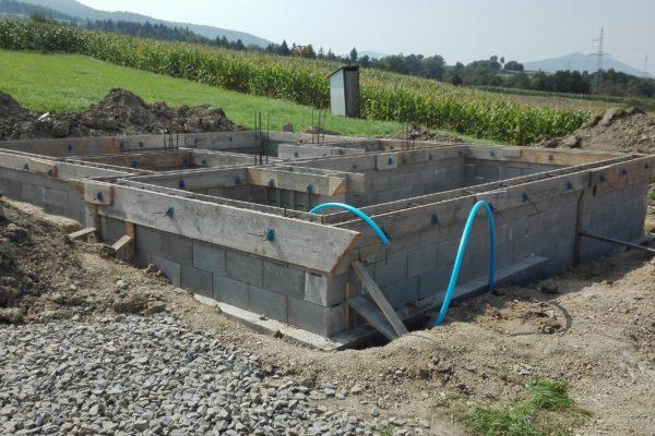 Budowa całego domu od podstaw w Tymbarku